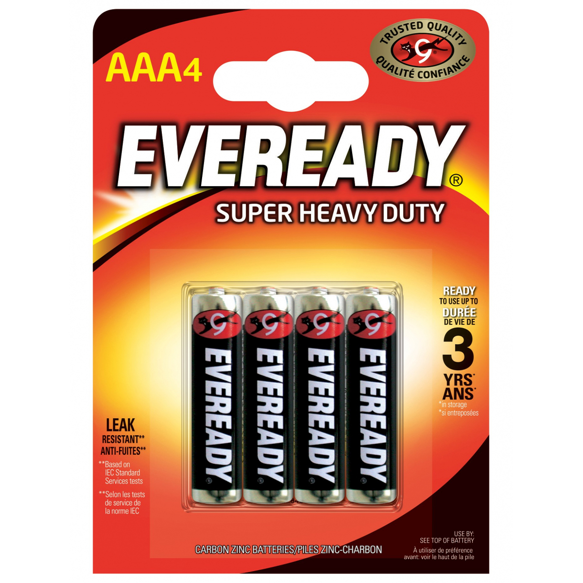 Eveready SHD AAAR3 Pil FSB4